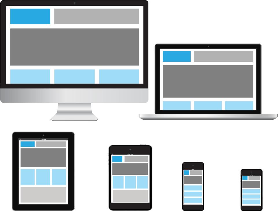 Адаптивный дизайн веб сайтов